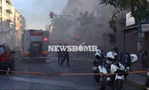 ΤΩΡΑ - Έκρηξη στην πλατεία Βικτωρίας: Έξι τραυματίες
