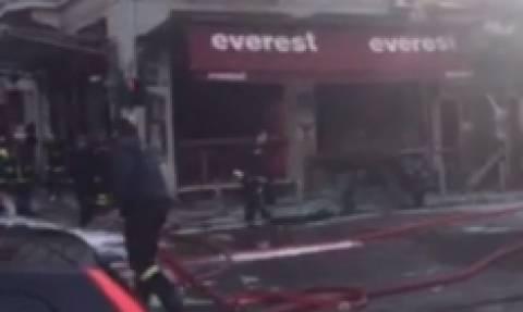 Τραγωδία στην πλατεία Βικτωρίας: Μία γυναίκα νεκρή - Δείτε LIVE εικόνα από το σημείο