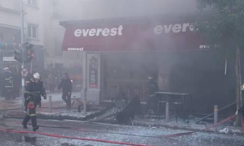 Έκρηξη στην πλατεία Βικτωρίας: Αποκλειστικές φωτογραφίες λίγα λεπτά μετά την έκρηξη (pics)