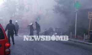 Έκρηξη στην πλατεία Βικτωρίας: Νέα αποκλειστικά πλάνα λίγα λεπτά μετά την τραγωδία (vid)
