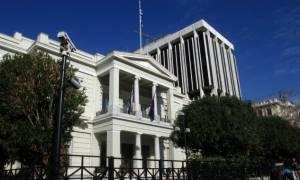 Τι απαντά το Υπουργείο Εξωτερικών στο «παραλήρημα» Τσαβούσογλου για τα Ίμια