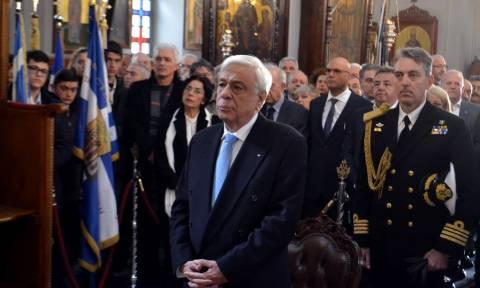 Ηχηρό μήνυμα Παυλόπουλου: Οι Έλληνες μπορούμε να ζήσουμε μόνο ελεύθεροι