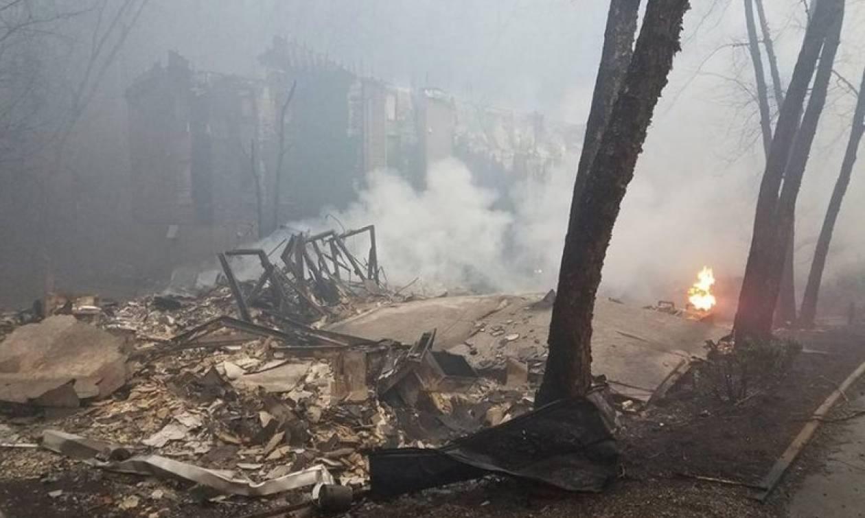 Τεράστια φωτιά σε πάρκο - Έντεκα πολίτες νεκροί