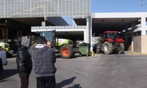 Κινητοποιήσεις αγροτών: Άνοιξε το τελωνείο των Ευζώνων
