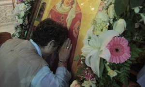 Συγκλονιστικό θαύμα της Αγίας Βαρβάρας-Θεραπεύει παράλυτο κορίτσι