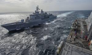 Το ΝΑΤΟ συνεχίζει την παρουσία του στο Αιγαίο - Αντιδράσεις από την Τουρκία