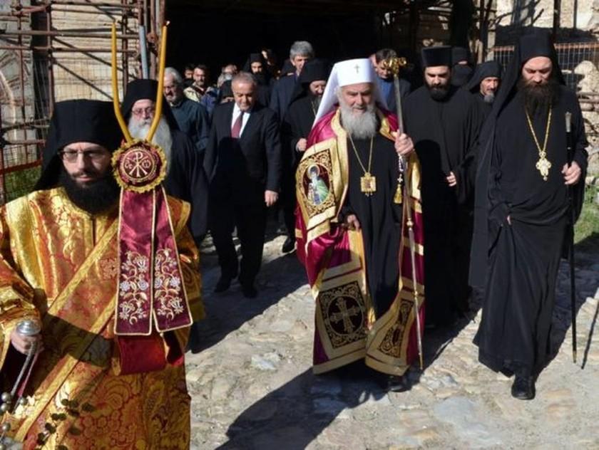 Αγιον Ορος: Ο Πατριάρχης Σερβίας Ειρηναίος στη Μονή Χιλιανδαρίου για την πανήγυρη της Μονής (pics)