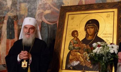 Άγιον Ορος: Ο Πατριάρχης Σερβίας Ειρηναίος στη Μονή Χιλιανδαρίου για την πανήγυρη της Μονής (pics)
