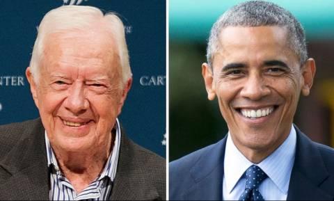 ΗΠΑ - Κάρτερ καλεί Ομπάμα: Αναγνώρισε τώρα την Παλαιστίνη