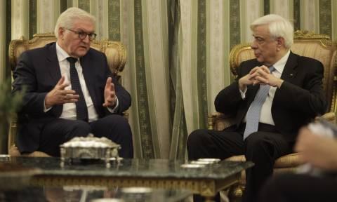 Παυλόπουλος σε Σταϊνμάιερ: Να έχετε εμπιστοσύνη σε εμάς τους Έλληνες, ότι θα τα καταφέρουμε