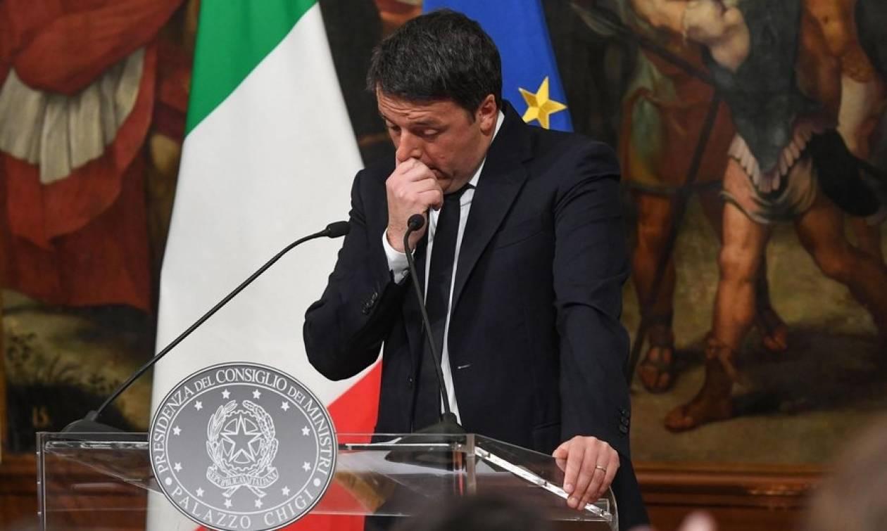 Δημοψήφισμα Ιταλία Live: Πότε ακριβώς σκοπεύει να υποβάλει επίσημη παραίτηση ο Ματέο Ρέντσι