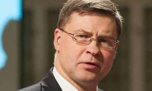Ντομπρόβσκις: Ήταν ένα καλό Eurogroup  για την Ελλάδα