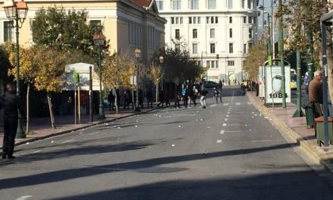 Πορείες Γρηγορόπουλου Live - Ένταση στο κέντρο της Αθήνας
