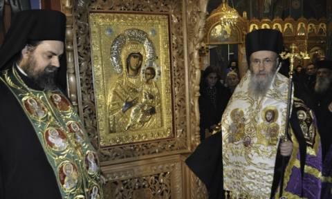 Ενθρόνιση Παναγίας της Βηματάρισσας στον Άγιο Νικόλαο Αντιρρίου