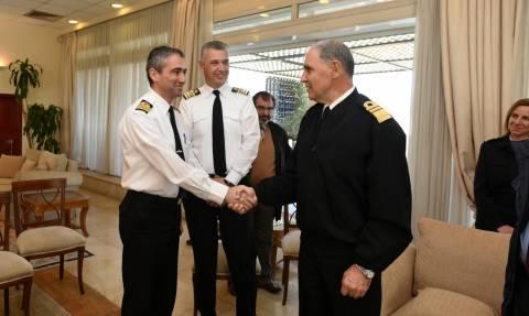 Πολεμικό Ναυτικό: Παράδοση Παραλαβή καθηκόντων Εκπροσώπου Τύπου ΓΕΝ