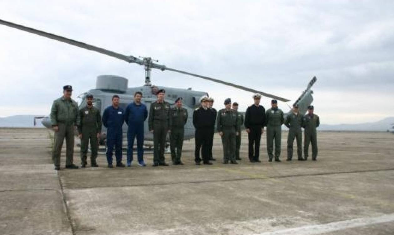 Στρατός Ξηράς: Ολοκλήρωση Συντήρησης και Παράδοση στο ΠΝ Ελικοπτέρου AB-212 ASW