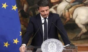 Ιταλία: Παραιτήθηκε και επισήμως ο Ματέο Ρέντσι