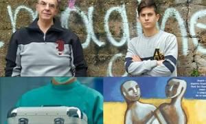 Συγκινεί ο γιος του Νίκου Νικολόπουλου: Η δωρεά οργάνων ως ηθική πράξη