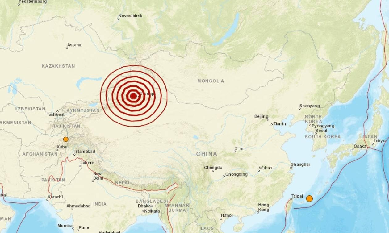 Ισχυρός σεισμός 6,1 Ρίχτερ στην Κίνα