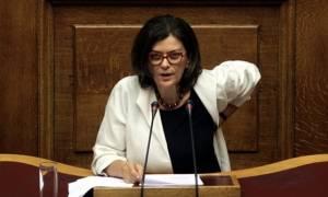 Βουλή - Προϋπολογισμός 2017 - Αντωνοπούλου: Επιμένει πως η ανεργία μειώθηκε