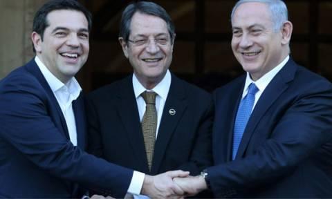 В Иерусалиме проходит встреча Н.Анастасиадиса, А.Ципраса и Б.Нетаньяху