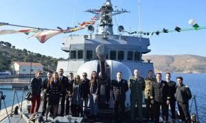 Συμμετοχή Πολεμικών Πλοίων στον Εορτασμό Αγ. Νικολάου (pics)