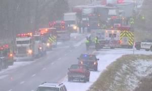 Απίστευτη καραμπόλα με 40 οχήματα στο Μίσιγκαν - Τουλάχιστον 3 νεκροί (pics+vid)