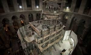 Τα μυστικά της αποκατάστασης του Παναγίου Τάφου