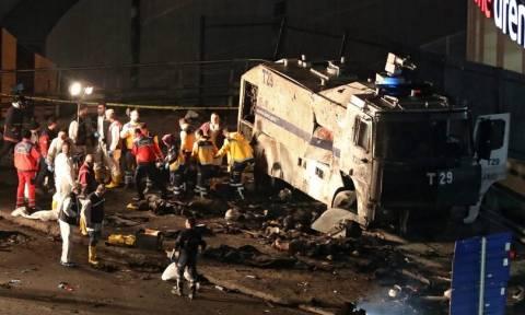 Κωνσταντινούπολη: Στους 38 ο αριθμός των νεκρών από τη διπλή βομβιστική επίθεση