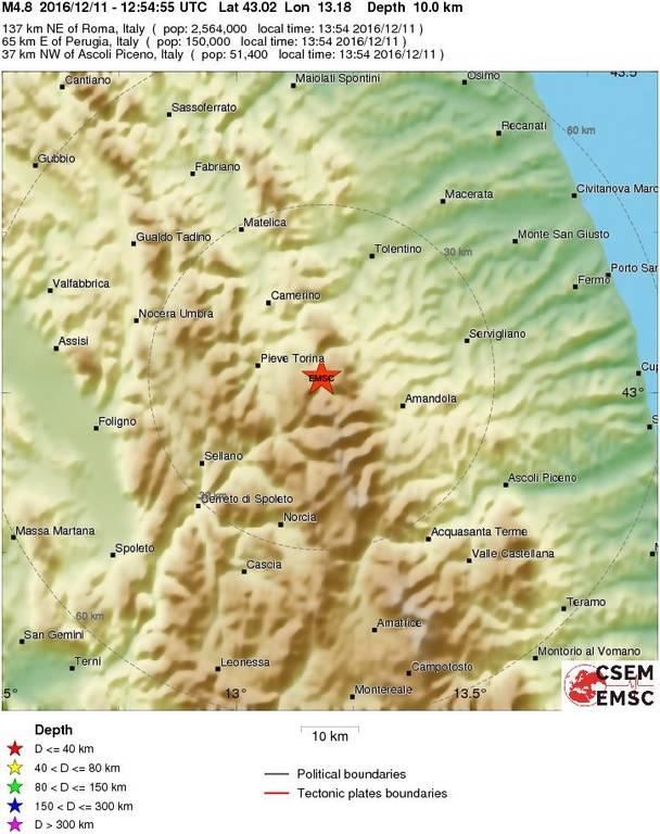 Ισχυρός σεισμός τώρα στην Ιταλία