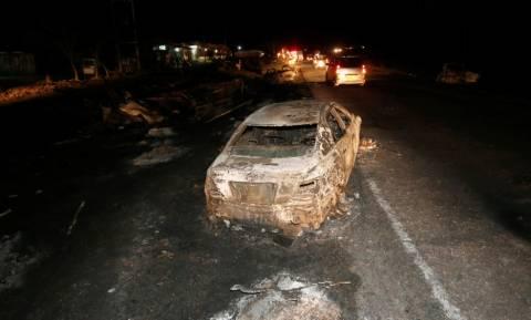 Κένυα: «Κόλαση» φωτιάς από έκρηξη βυτιοφόρου σε αυτοκινητόδρομο – Απανθρακώθηκαν 40 άνθρωποι (Vid)
