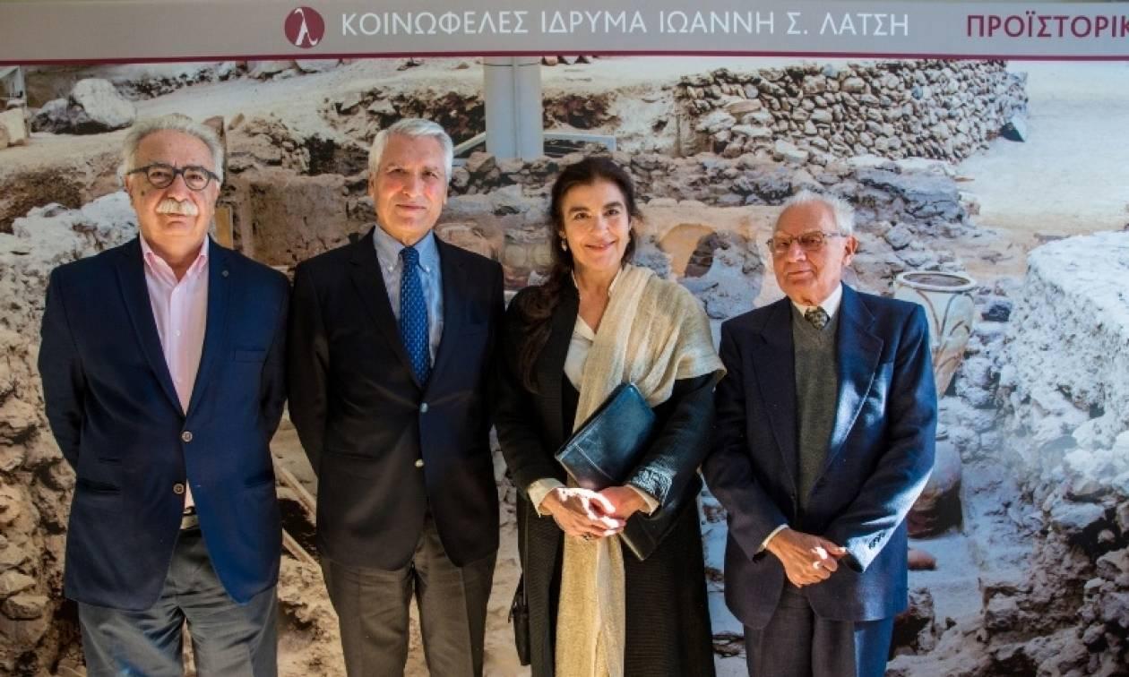 «Προϊστορική Θήρα»: Άγνωστα έργα τέχνης από το Ακρωτήρι