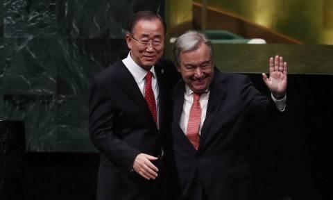 Ο Αντόνιο Γκουτέρες ορκίστηκε νέος Γενικός Γραμματέας του ΟΗΕ