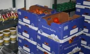 Περιφέρεια Κρήτης: Διανομή τροφίμων σε άπορους