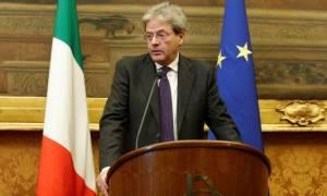 Ιταλία: Έλαβε ψήφο εμπιστοσύνης η κυβέρνηση Τζεντιλόνι