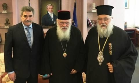 Χείρα συνεργασίας έτεινε ο Αρχιεπίσκοπος Ιερώνυμος για την καταπολέμηση της κρίσης