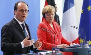 Μέρκελ - Ολάντ συμφωνούν για νέα μέτρα κατά της Μόσχας