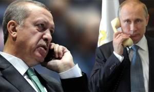 Έκτακτη τηλεφωνική συνομιλία Πούτιν - Ερντογάν