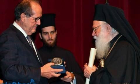 Αρχιεπίσκοπος Αναστάσιος: Ανακηρύχθηκε επίτιμος δημότης Καλαμάτας