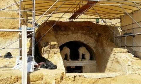Αμφίπολη: Μέχρι και οι Τούρκοι είχαν ρημάξει το μνημείο