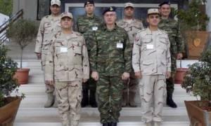 Επίσκεψη Αιγυπτίων Αξιωματικών στη Σχολή Μηχανικού