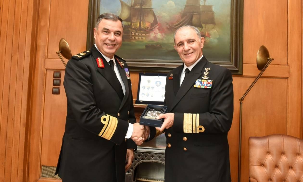 Επίσκεψη Υπαρχηγού Πολεμικού Ναυτικού Αιγύπτου στην Ελλάδα