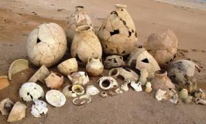 Αρχαιολογικά ευρήματα πέραν των 2.300 χρόνων βρέθηκαν στην κατεχόμενη Βατυλή