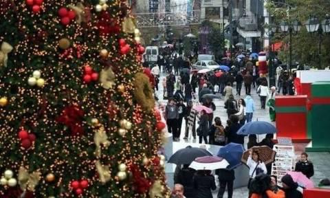 Χριστούγεννα 2016 - Πρωτοχρονιά 2017: Αρχίζει το εορταστικό ωράριο σε Αθήνα και Θεσσαλονίκη