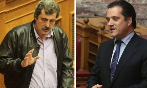 Χαμός στη Βουλή: Άδωνις: «Είσαι κότα λειράτη» - Πολάκης: «Είσαι σκυλί του Σόιμπλε» (vid)