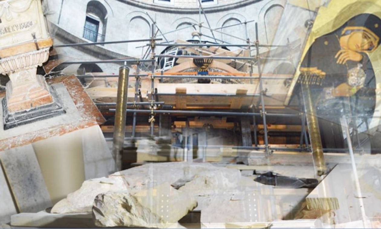 Αποστολή Newsbomb.gr: Άνοιξαν τον Πανάγιο Τάφο και γονάτισαν μπροστά του συγκινημένοι οι επιστήμονες