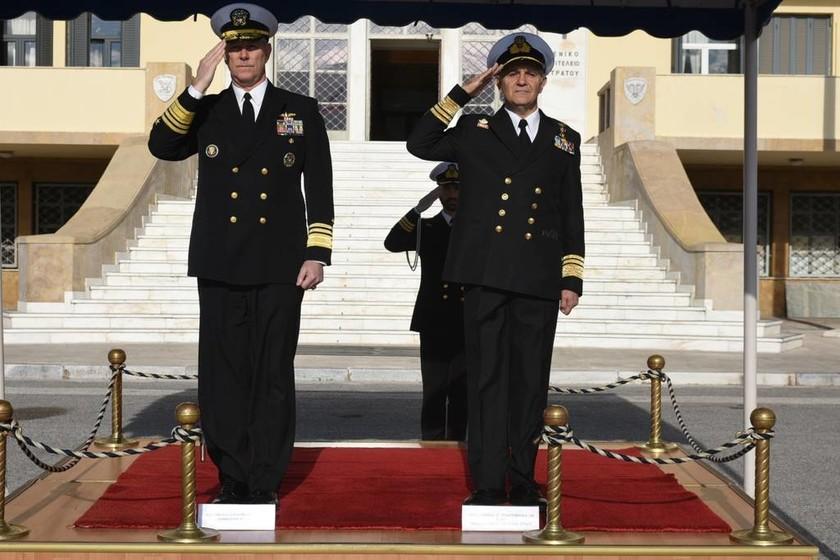 Επίσημη Επίσκεψη Διοικητού 6ου Στόλου ΗΠΑ (pics)