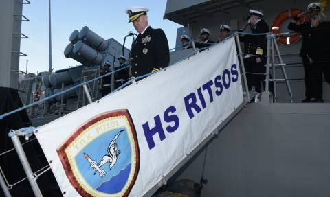Επίσημη Επίσκεψη Διοικητού 6ου Στόλου ΗΠΑ στο Πολεμικό Ναυτικό (pics)