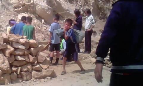 Εικόνες σοκ από παιδιά «σύγχρονους σκλάβους» στη Βόρεια Κορέα (pics+vid)