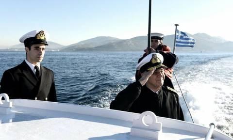 Ο Α/ΓΕΝ στα Πολεμικά Πλοία (pics)
